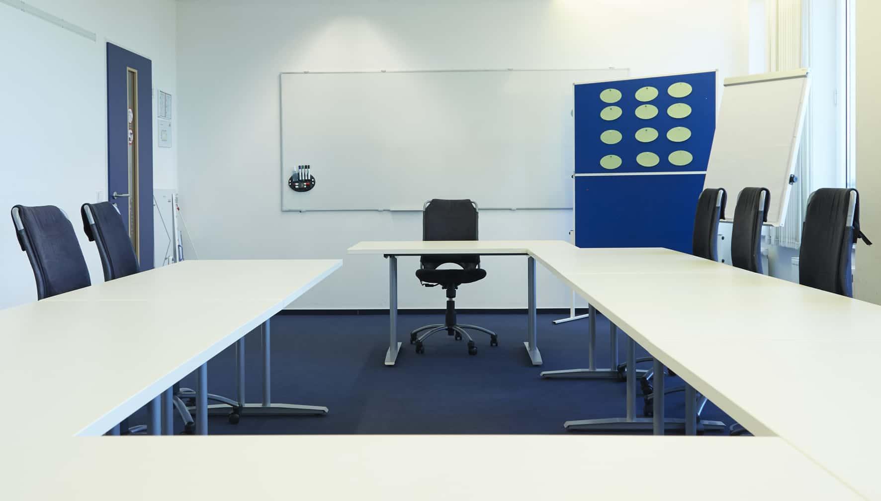 Seminarraum 2   itb - Institut für Training und Beratung in Hamburg